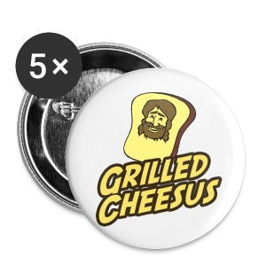 GRILLED CHEESUS Buttons - Small Buttons