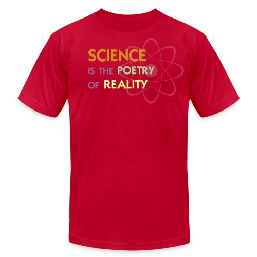 Science is the Poetry of Reality - Men's  Jersey T-Shirt