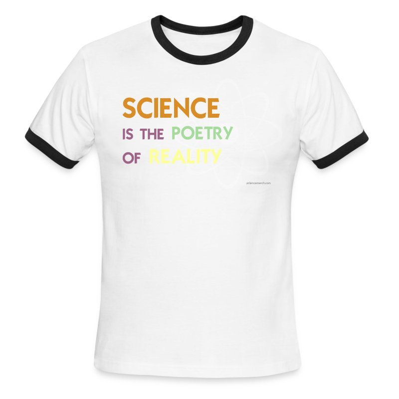Science is the Poetry of Reality - Men's Ringer T-Shirt