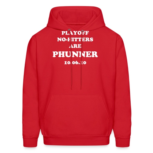 Playoff No-Hitters are Phunner - Men's Hoodie