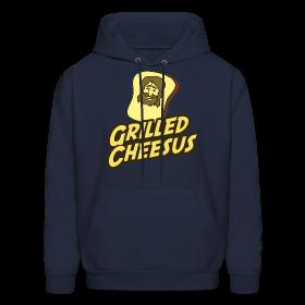 GRILLED CHEESUS Men's Hoodie ~ 185