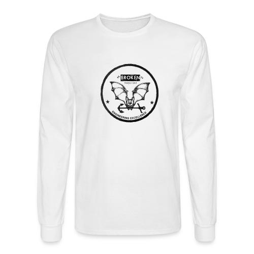 Broken Magazine Long Sleeve Sea Bat - Men's Long Sleeve T-Shirt
