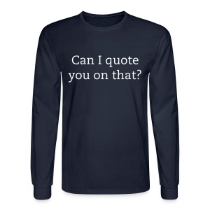 Professional Writer - Men's Long Sleeve T-Shirt