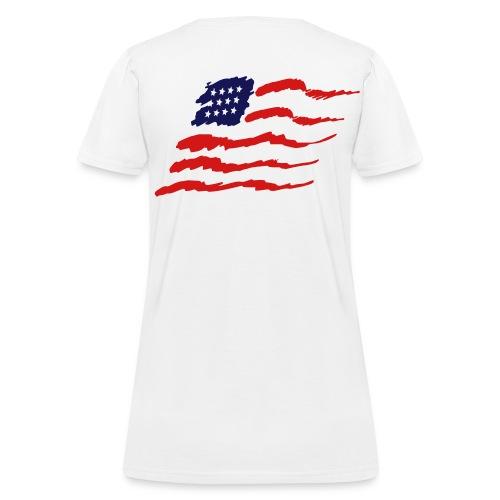 American Flag - Women's T-Shirt