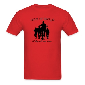Red Fridays - Soldiers - Men's T-Shirt