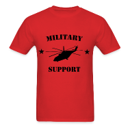T-Shirts ~ Men's T-Shirt ~ Military Support