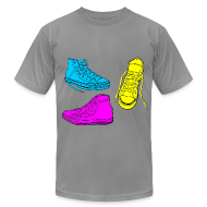 T-Shirts ~ Men's T-Shirt by American Apparel ~ Sneakers
