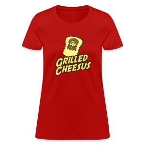 GRILLED CHEESUS Women's T-SHIRT - Women's T-Shirt