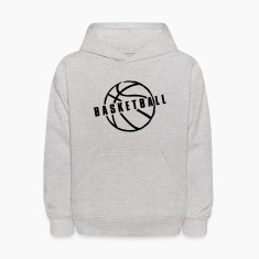 Heather grey Basketball Sweatshirts