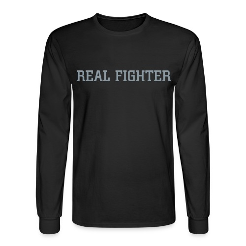 REAL FIGHTER 2 - Men's Long Sleeve T-Shirt