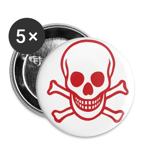 Skull Button - Small Buttons