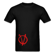 T-Shirts ~ Men's T-Shirt ~ Vendetta T-Shirt Lower Side Print