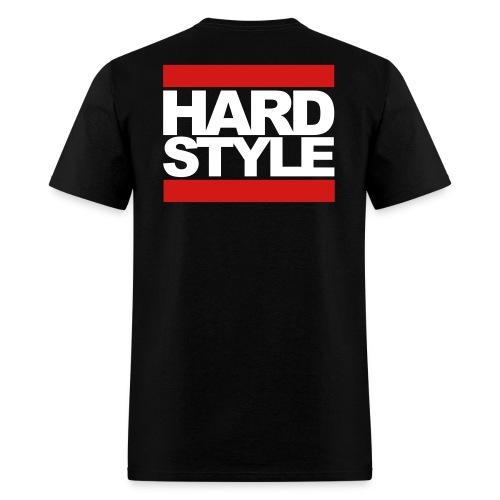 HARDSTYLE ........... (BACK DESIGN) - Men's T-Shirt