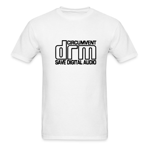 Circumvent DRM - White - Men's T-Shirt
