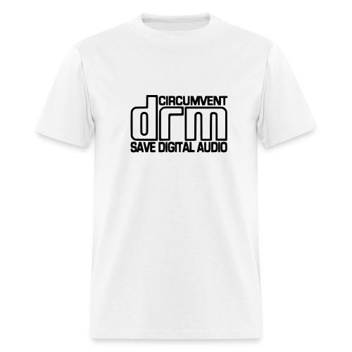 Circumvent DRM - White - Men's T-Shirt
