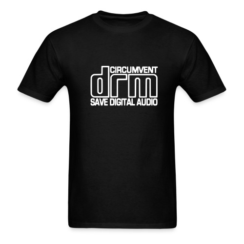 Circumvent DRM - Black - Men's T-Shirt