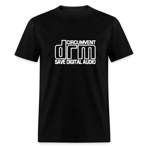 Circumvent DRM - Black - Men's T-Shirt