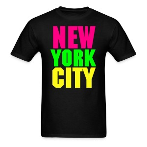 NEW YOR CITY Neon Colors T-Shirt - Men's - Men's T-Shirt