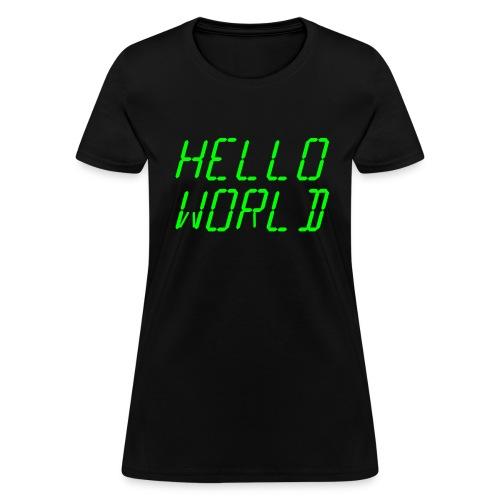 Womens Coder Shirt - Women's T-Shirt