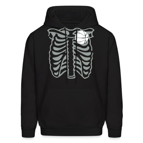 Basketball's My Heart  - Men's Hoodie