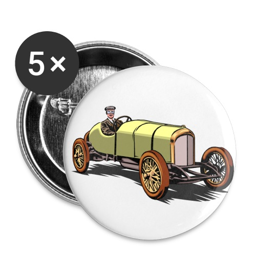 Antique Racecar Buttons - Small Buttons