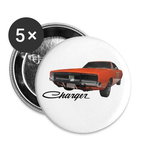 Charger General Lee Buttons - Small Buttons