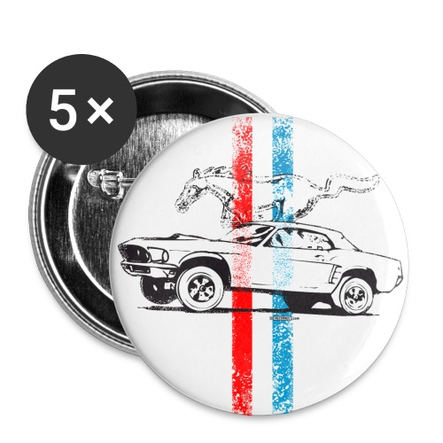 Mustang Buttons - Small Buttons