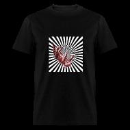 T-Shirts ~ Men's T-Shirt ~ Cat Falls in Well