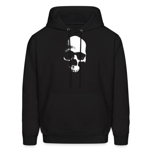 Grunge Skull - Black Hoodie - Men's Hoodie