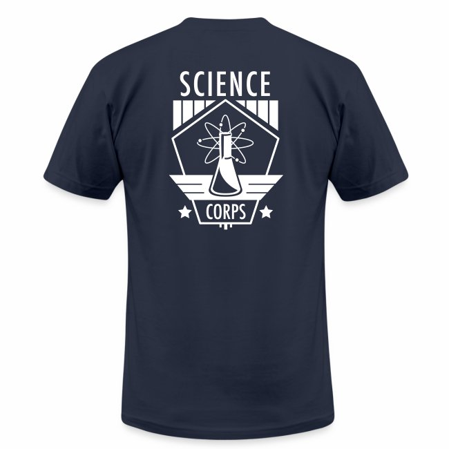 Science Corps - 3 star Men's AA Tee