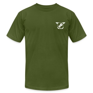 Gears of the Future - olive - Men's Fine Jersey T-Shirt