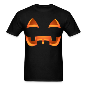 Jack-o-lantern Halloween T-Shirt Pumpkin Shirts - Men's T-Shirt