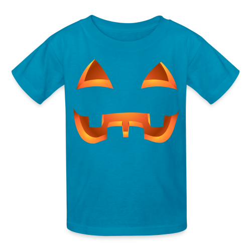 Kid's Jack-o-lantern Halloween Costume T-Shirt Pumpkin Shirts - Kids' T-Shirt