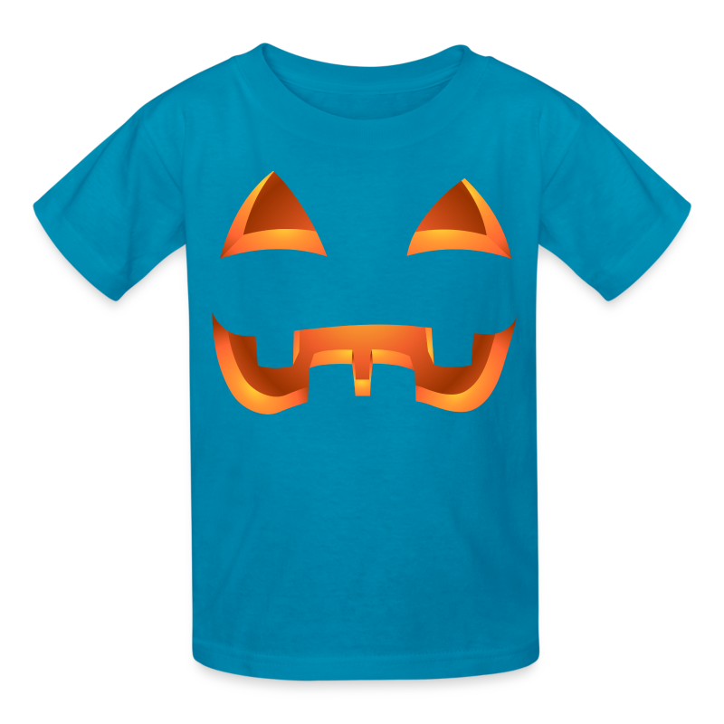 Kid's Jack-o-lantern Halloween Costume T-Shirt Pumpkin Shirts - Kids' T-Shirt