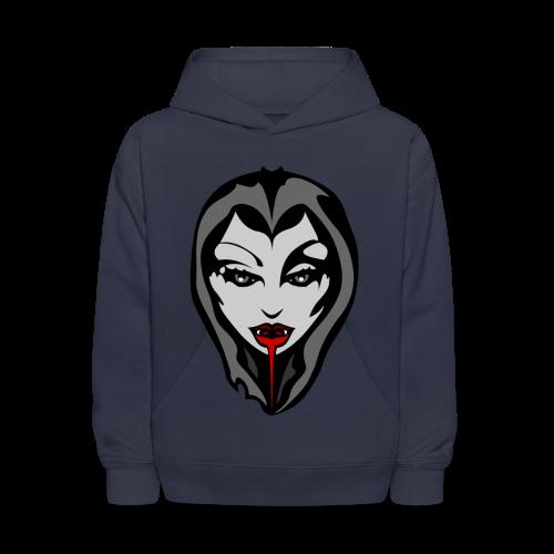 Vampire T-shirt Vampy Halloween Shirts - Kids' Hoodie