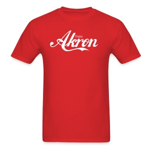 Enjoy Akron - White - Men's T-Shirt
