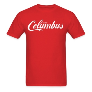 Enjoy Columbus - White - Men's T-Shirt