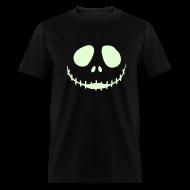 T-Shirts ~ Men's T-Shirt ~ JACK'S NIGHTMARE 3D - Glow in the Dark T-Shirt