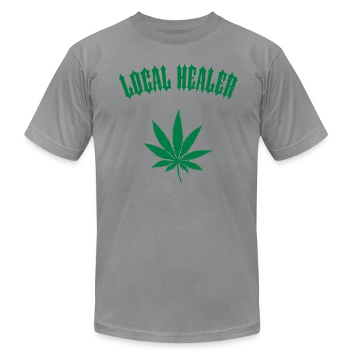 Local Healer - Slate/Gray Tee - Men's Fine Jersey T-Shirt