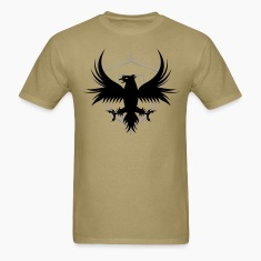 Men's Regal Falcon and Shield Tee