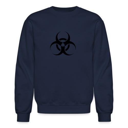 Crewneck Sweatshirt - toxic,help,hazardous,good cause,boom