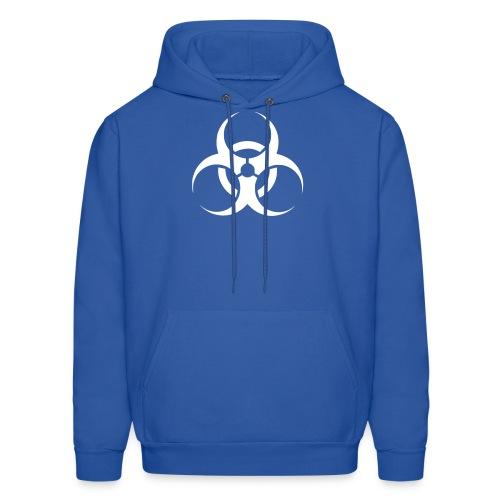 Men's Hoodie - toxic,help,hazardous,good cause,boom