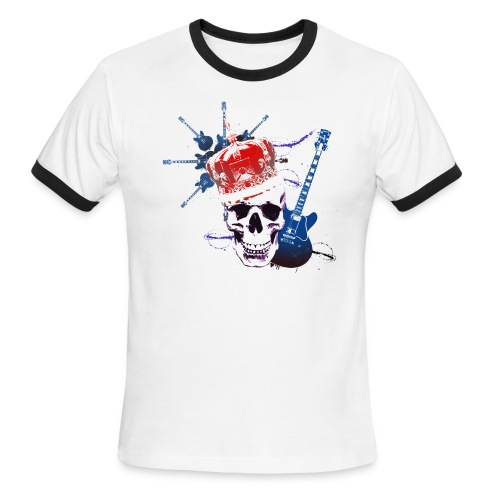 The Sweetest Rock Tee Ever, for Dudes. - Men's Ringer T-Shirt