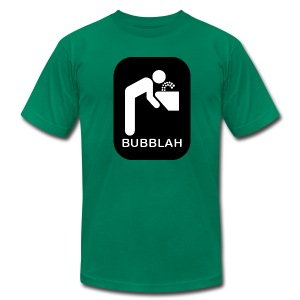 Bubblah Men's American Apparel Tee - Men's Fine Jersey T-Shirt