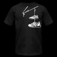 T-Shirts ~ Men's T-Shirt by American Apparel ~ Lifting Shoes Hanging