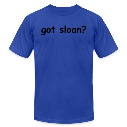 got sloan? - Men's  Jersey T-Shirt