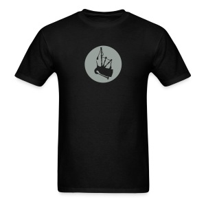 Circle pipes T - Men's T-Shirt