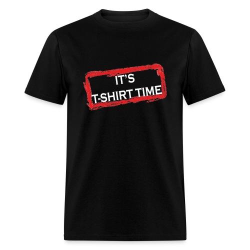 Men's Jersey Shore It's T-Shirt Time Quote Tee - Men's T-Shirt