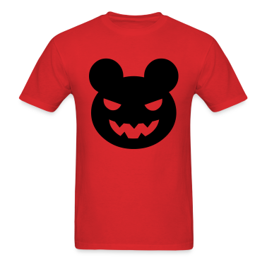Red halloween evil bear T-Shirts