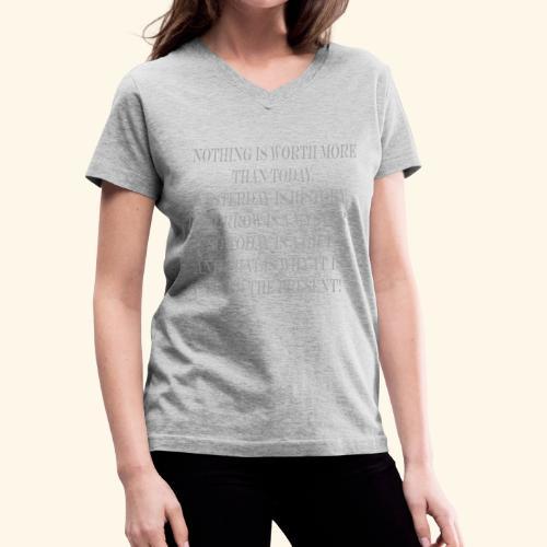 The Present - Women's V-Neck T-Shirt